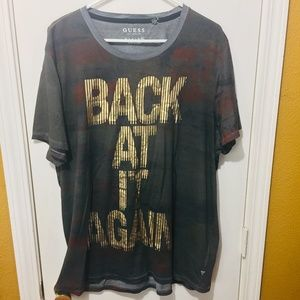 """Guess """"BACK AT IT AGAIN"""" lightweight shirt ! MIGOS"""
